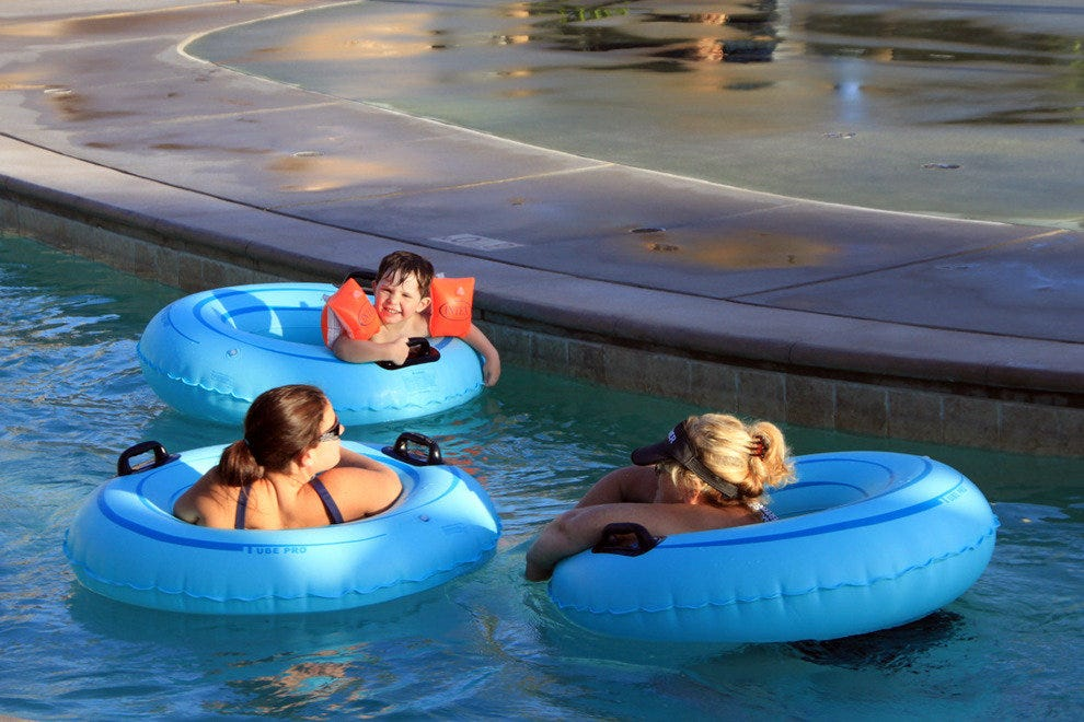Omni Rancho Las Palmas Resort & Spa, lazy river in Splashtopia Water Park