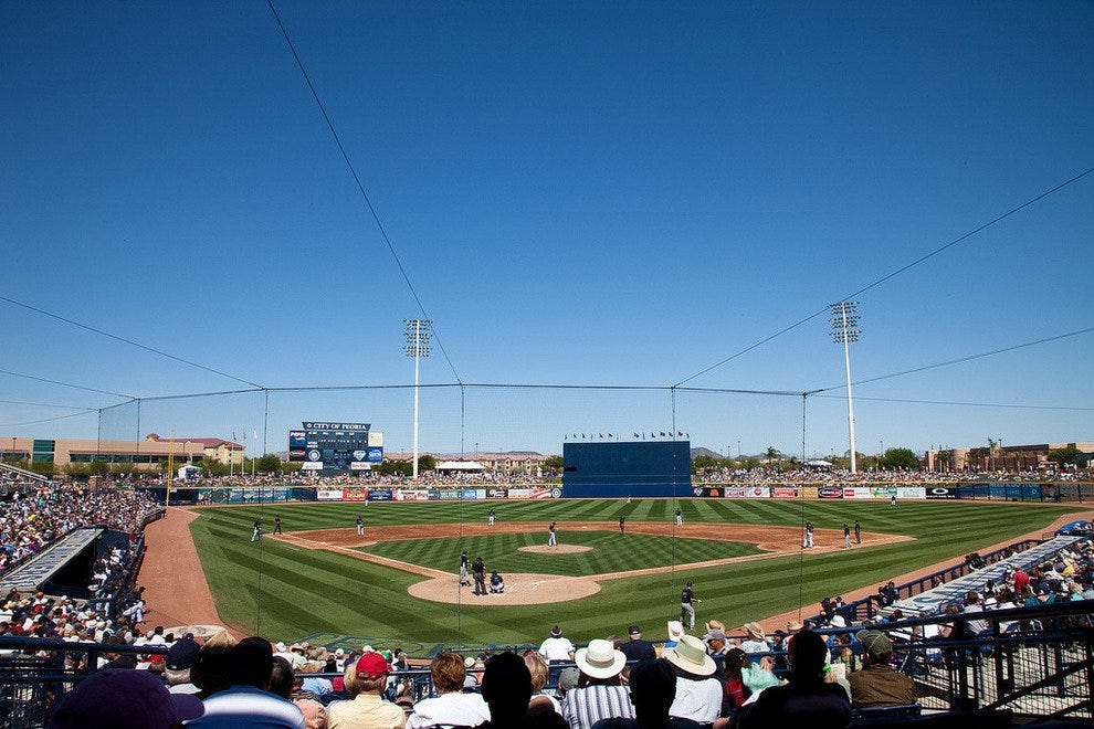 Seatlle Mariners' spring training at Peoria Sports Complex