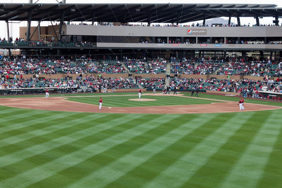 Salt River Fields in Scottsdale is Spring Training Home to Diamondbacks