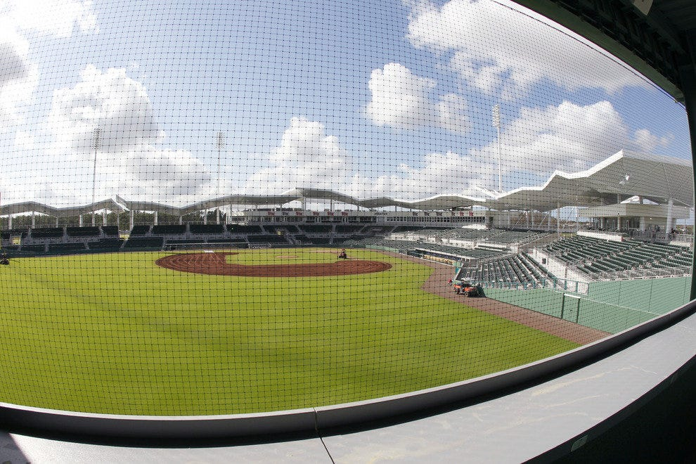 JetBlue Park just opened in sunny Fort Myers, Florida . . . home of Red Sox Nation