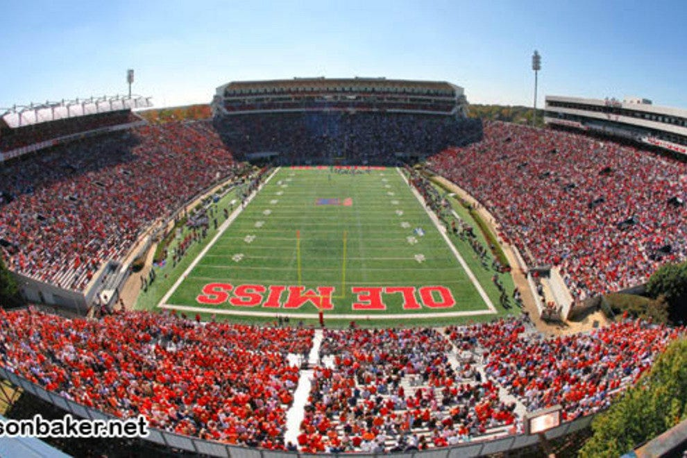Vaught-Hemingway Stadium at Ole Miss