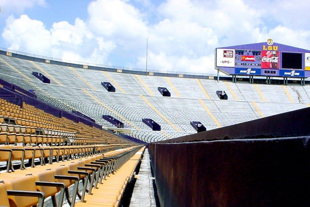 Louisiana State University football stadium, Baton Rouge, LA