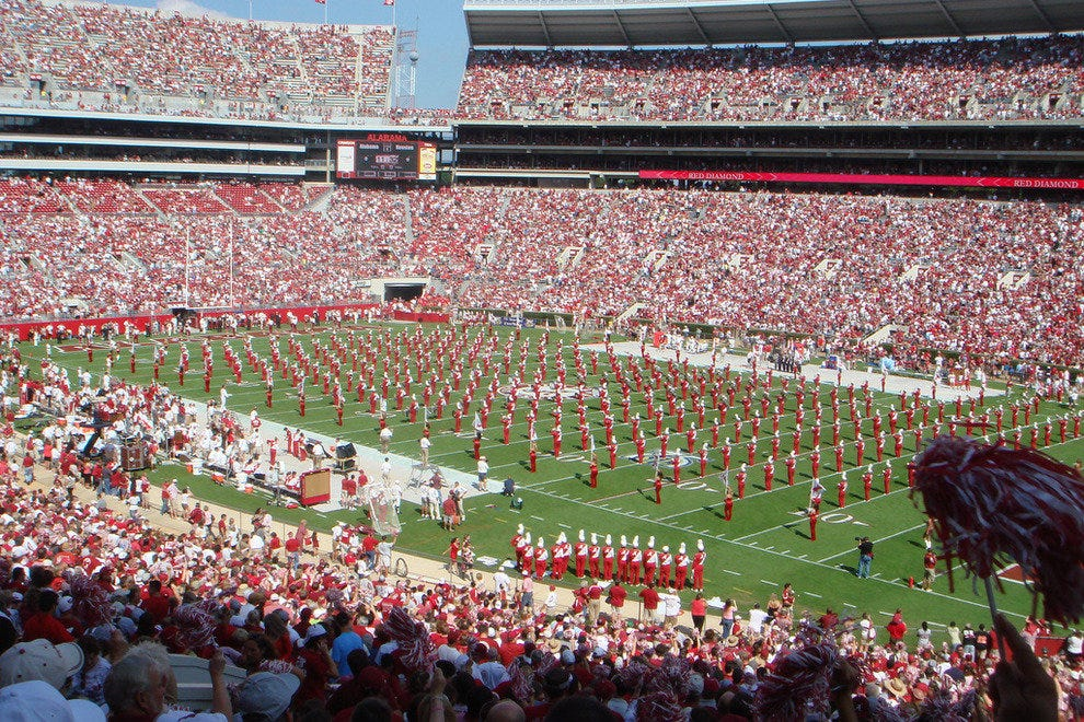 Bryant-Denny Stadium, home of the Crimson Tide