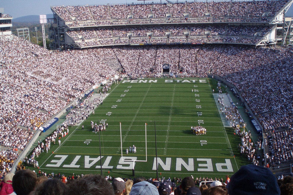 Beaver Stadium at Penn State