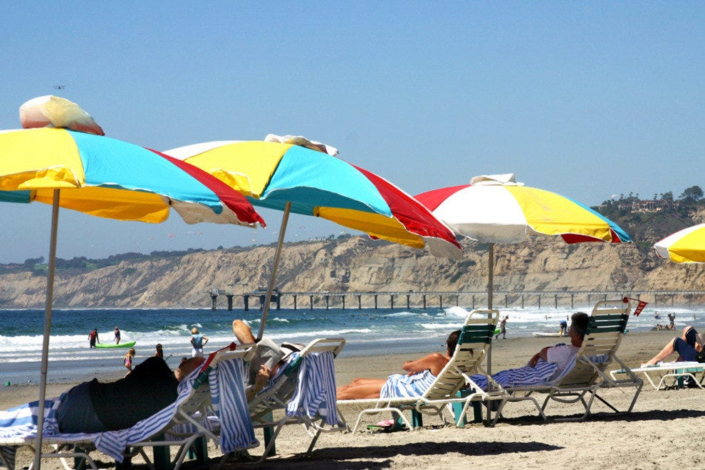 San Diego's Sun-Drenched Beaches Each Have Their Own Unique Appeal