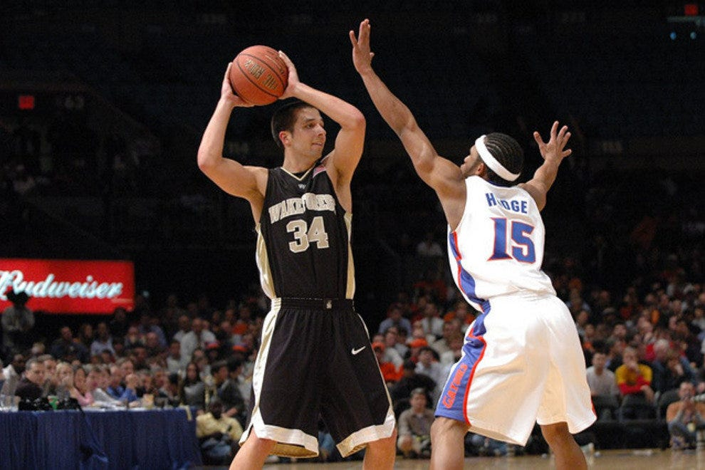 Wake Forest and Florida face off at Madison Square Garden, another NCAA tournament location