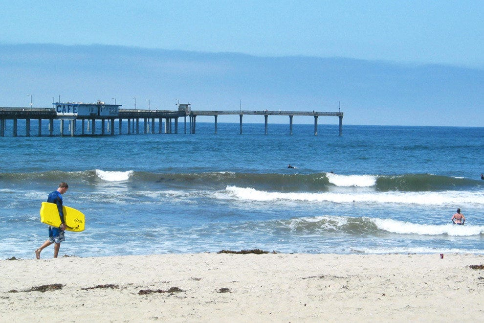 Fishing Piers Add a Funky Touch to San Diego's Beaches