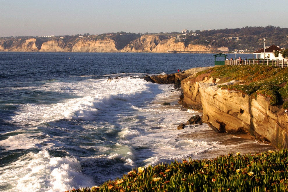Sometimes Just a View of a Glorious San Diego Beach Will Make Your Day