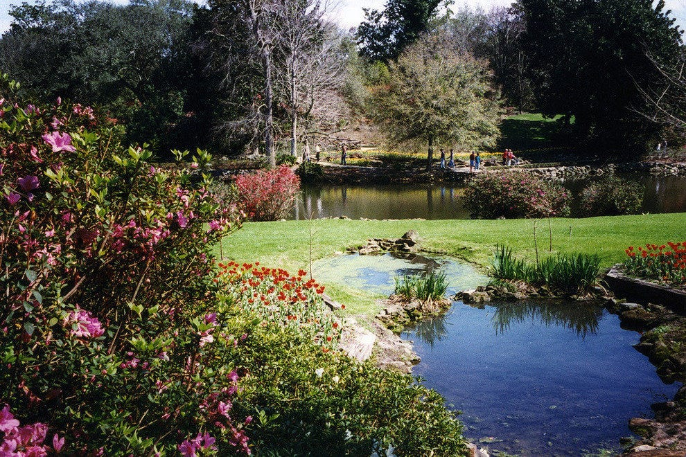 The beautiful Bellingrath Gardens