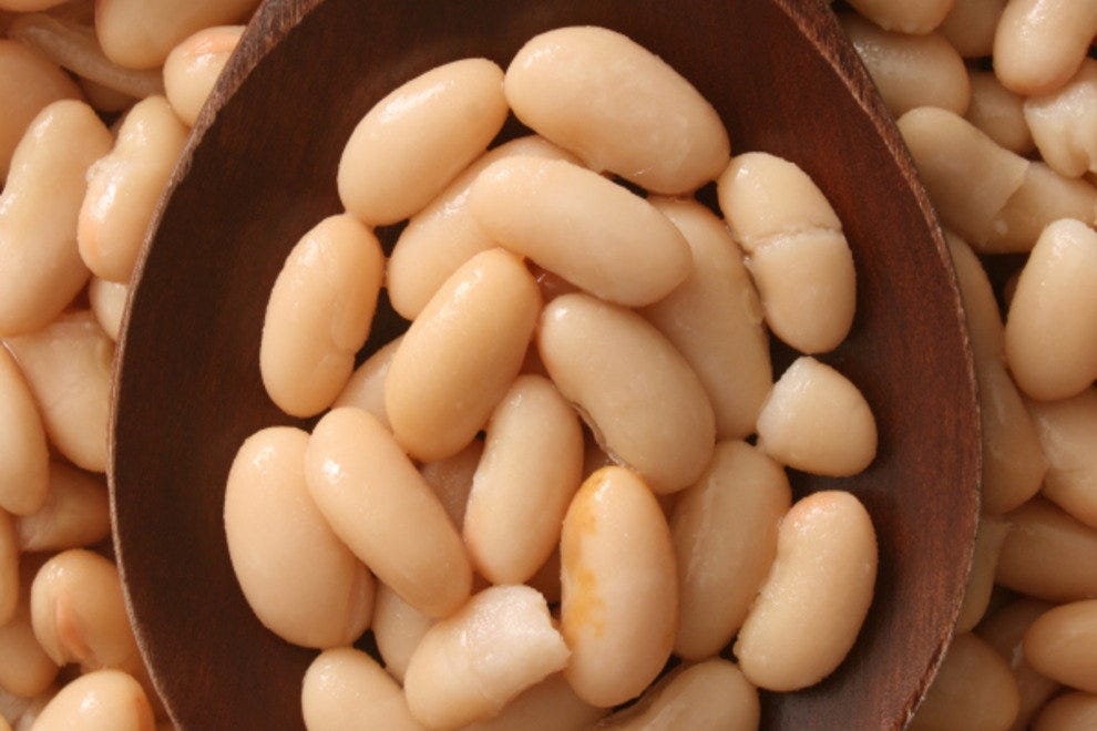 White beans: a different look but just as delicious.