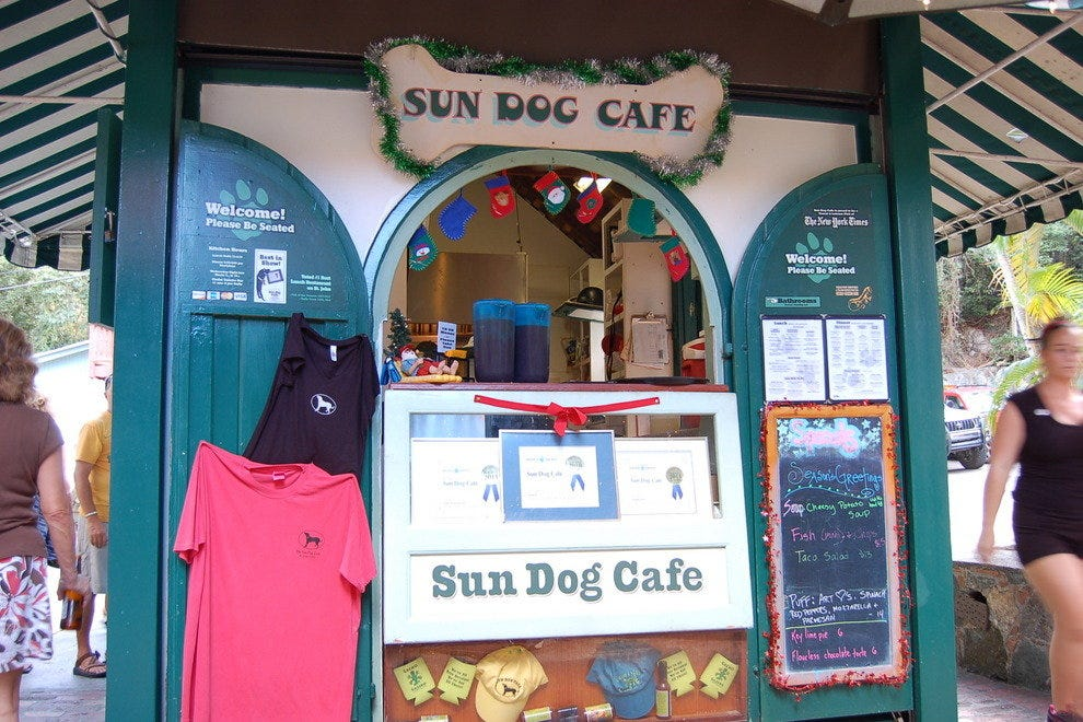 Sun Dog Cafe and Gecko Gazebo