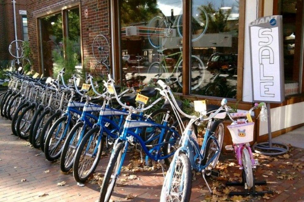 Gorham Bike and Ski's extensive inventory.