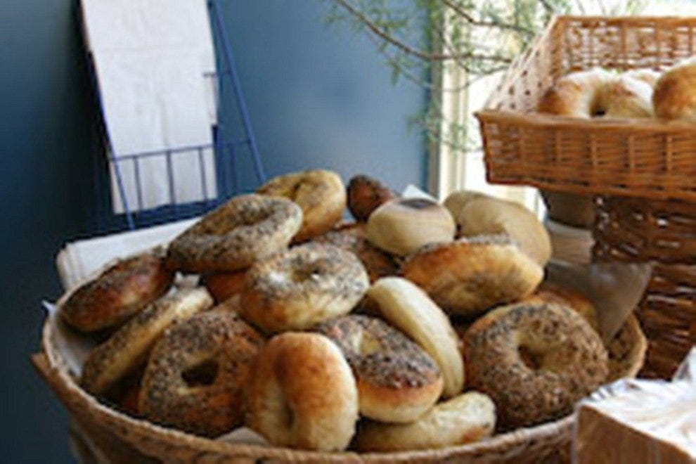 Bagels are a specialty at Scratch Baking Company