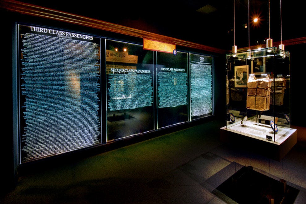 The names of all who died aboard the ill-fated Titanic