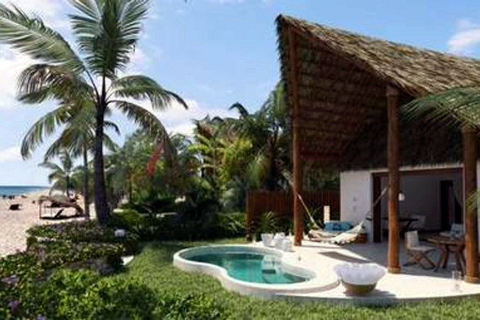 Instead of guest rooms, Viceroy Riviera Maya has 41 private villas, to insure the privacy of their guests.