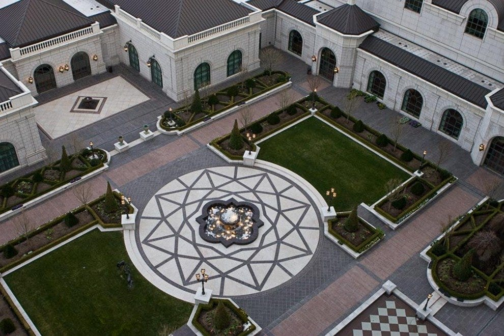 Grand America's Courtyard as Viewed from a Guest Room
