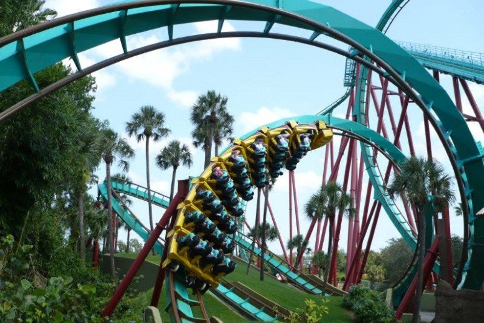 Get Your Heart Rate Up at Tampa's Busch Gardens