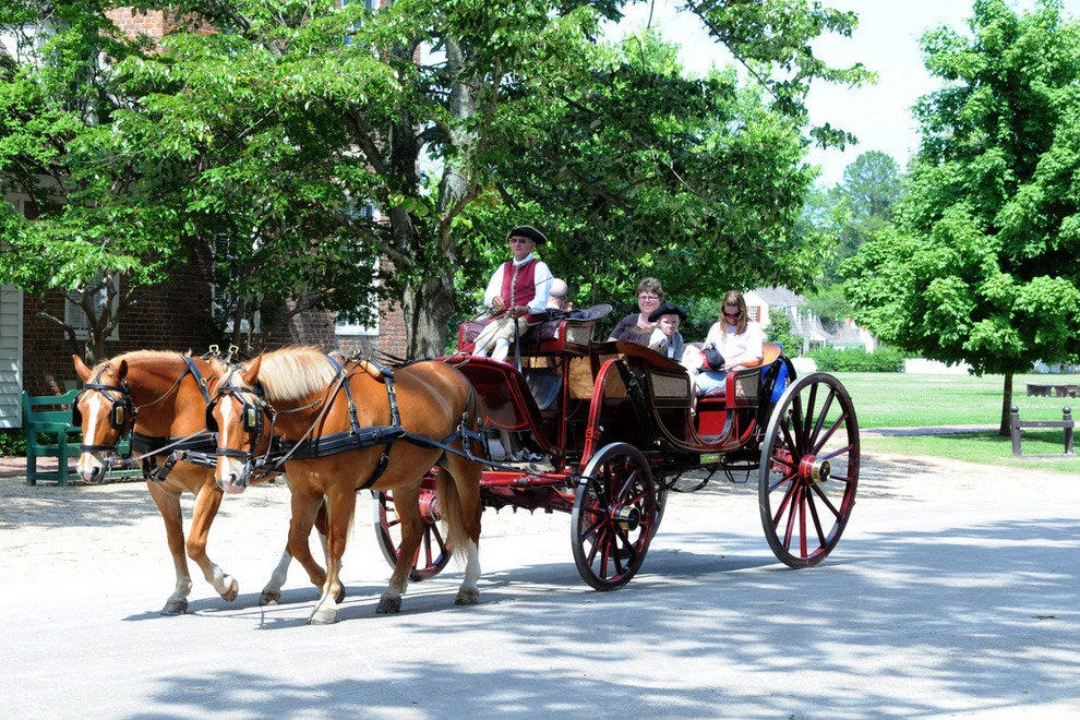 Colonial Williamsburg appeals to people of all ages