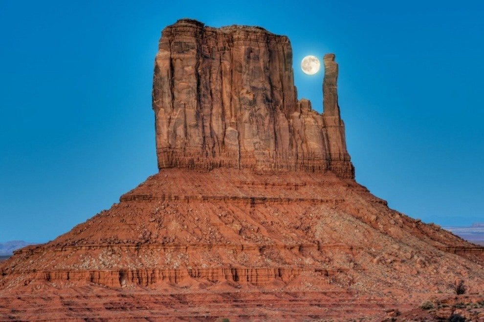 Monument Valley in America's great Southwest