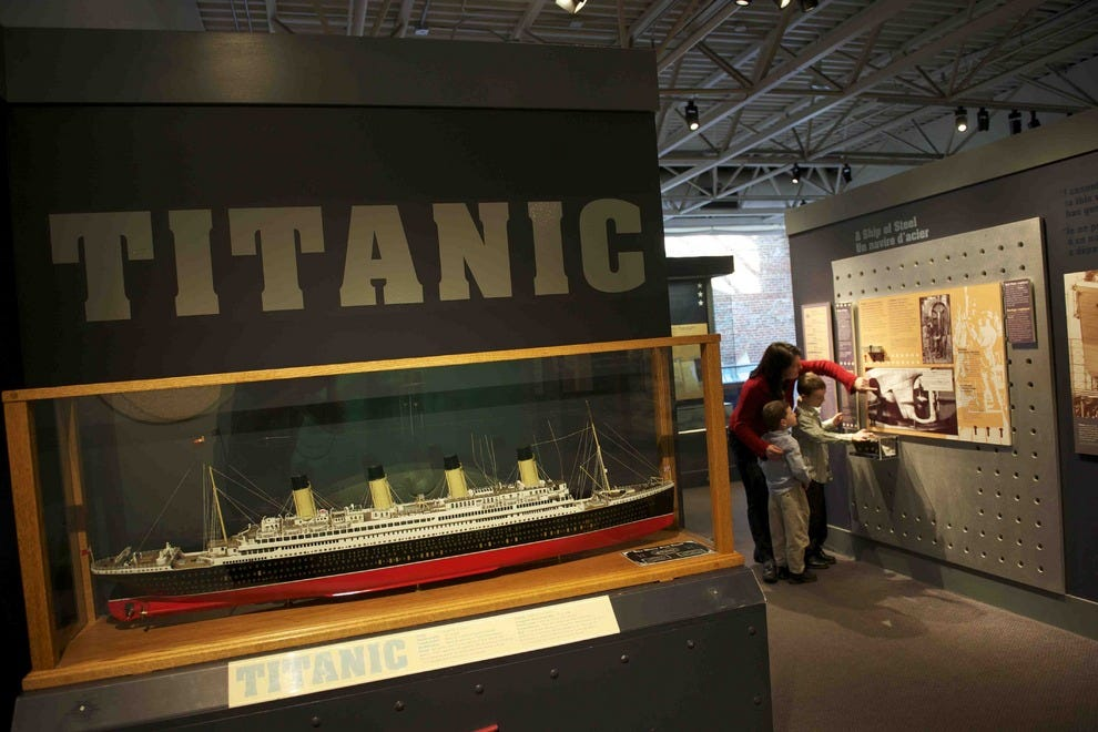 RMS Titanic exhibits reveal much at the Maritime Museum of the Atlantic in Halifax