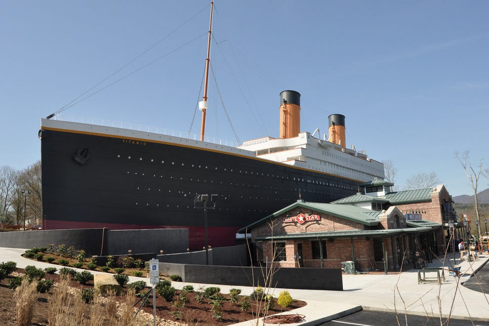 Explorer and Producer John Joslyn built Titanic museums in Pigeon Forge and Branson