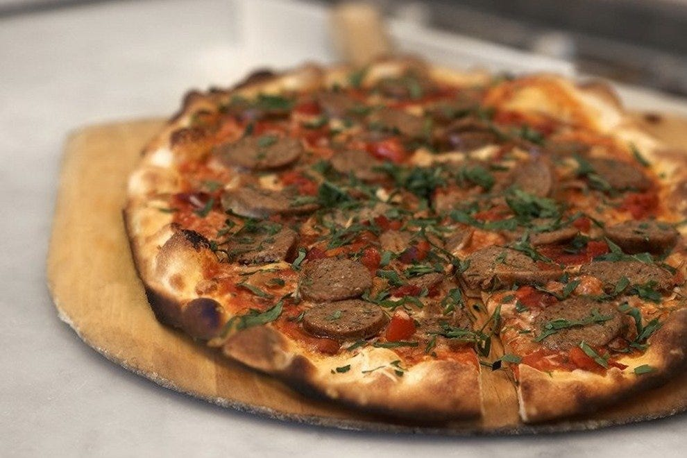Spicy Fennel Sausage Pizza
