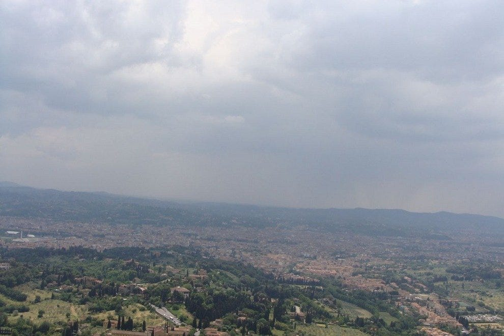 View from San Francesco of Florence