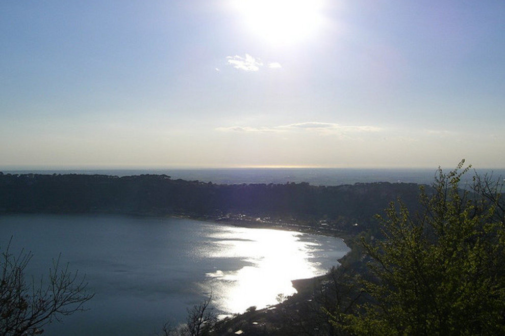 The Lake at Castel Gandolfo
