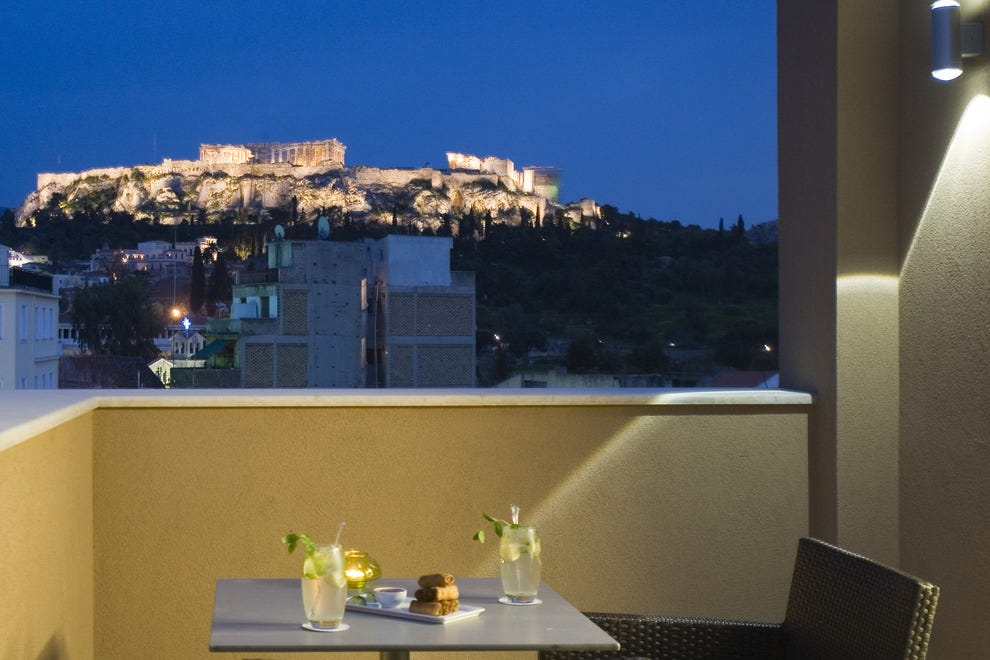 O b athens boutique hotel athens hotels review 10best for Best boutique hotels athens