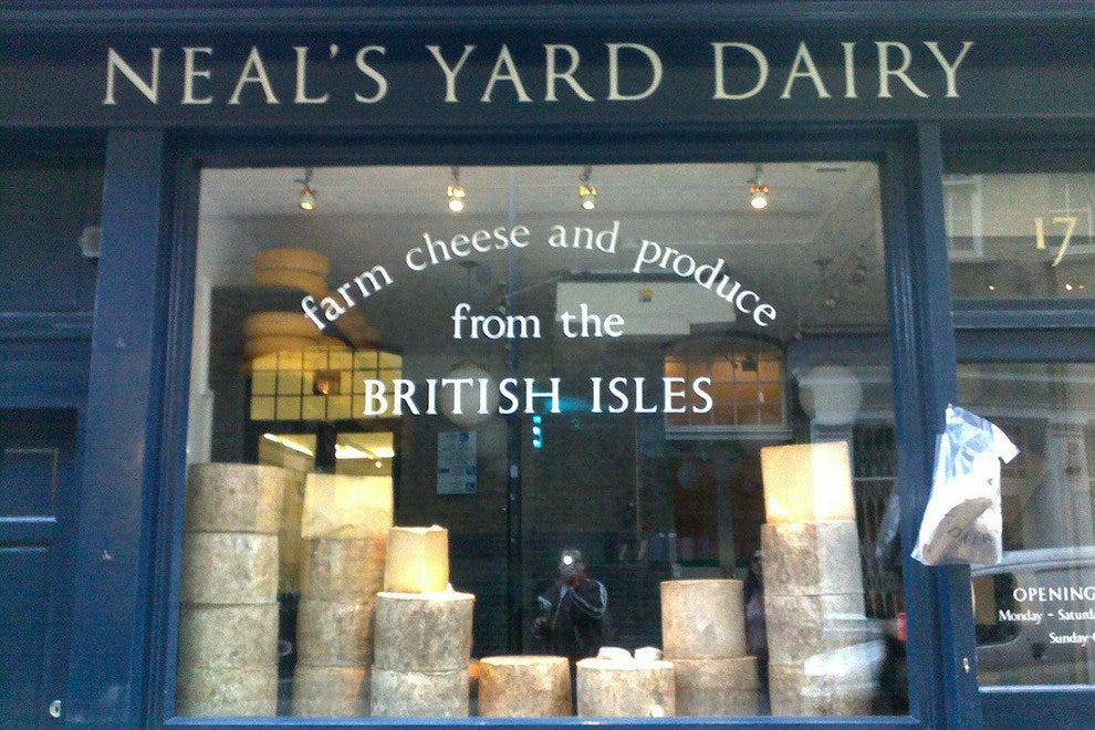 British Cheese from the British Isles
