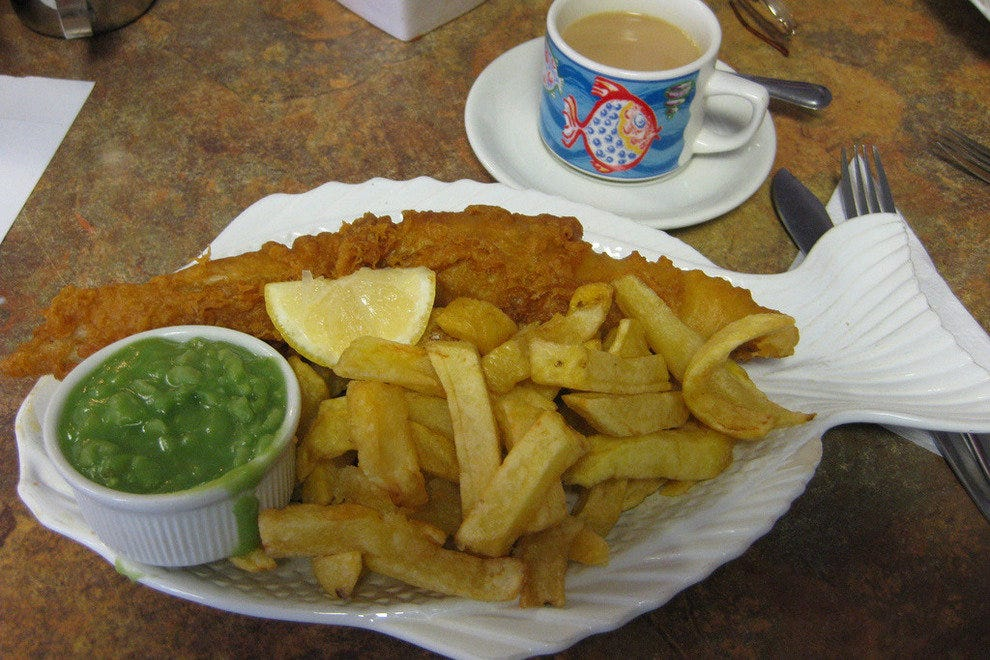 Iconic Fish and Chips