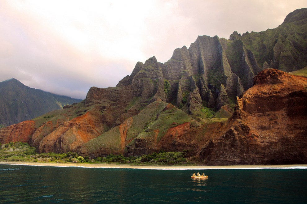 Kauai, Beaches of Na Pali Coast State Wilderness Park