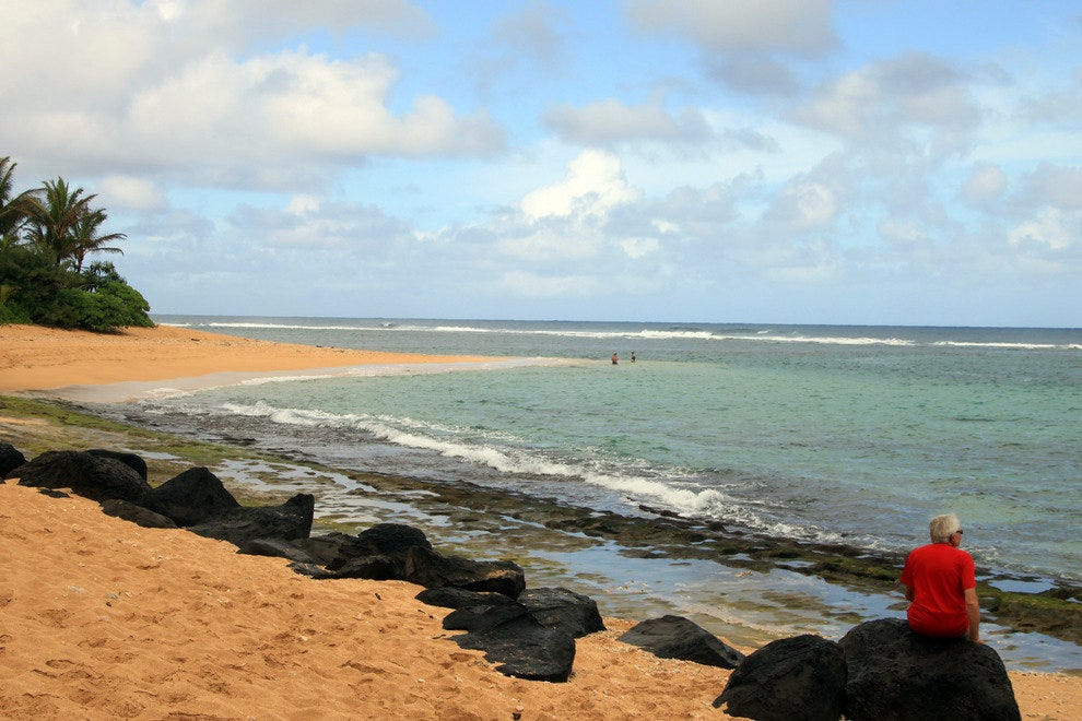 Kauai, East Shore Beach
