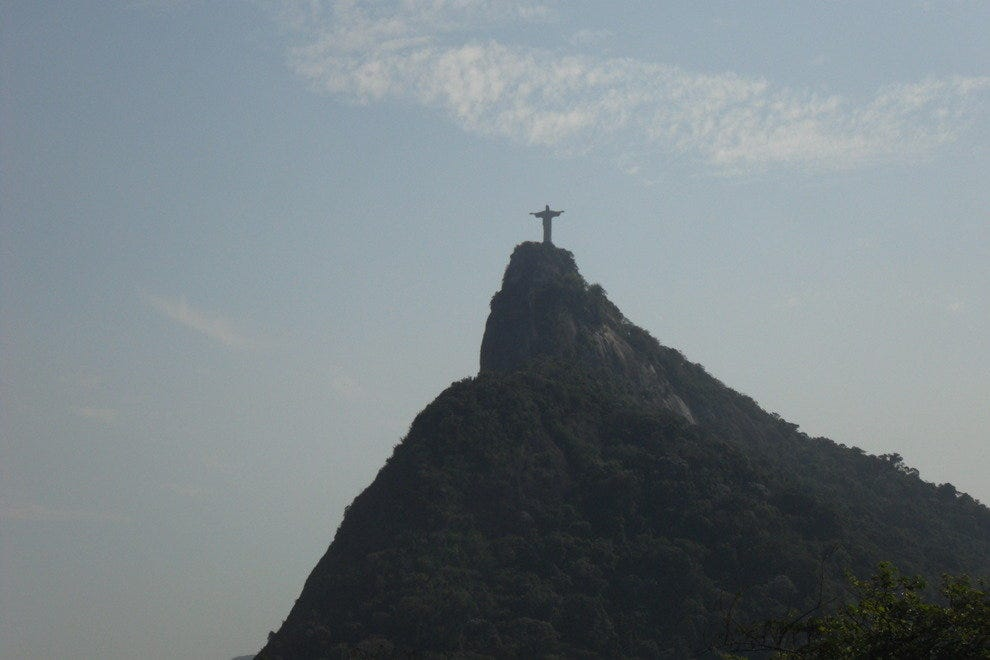 Christ the Redeemer and Corcovado Mountain