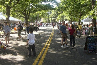 Enjoy Boston's Memorial Drive: No Cars Allowed April - November
