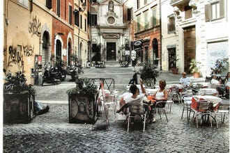 Cafés are all the Craze in Rome