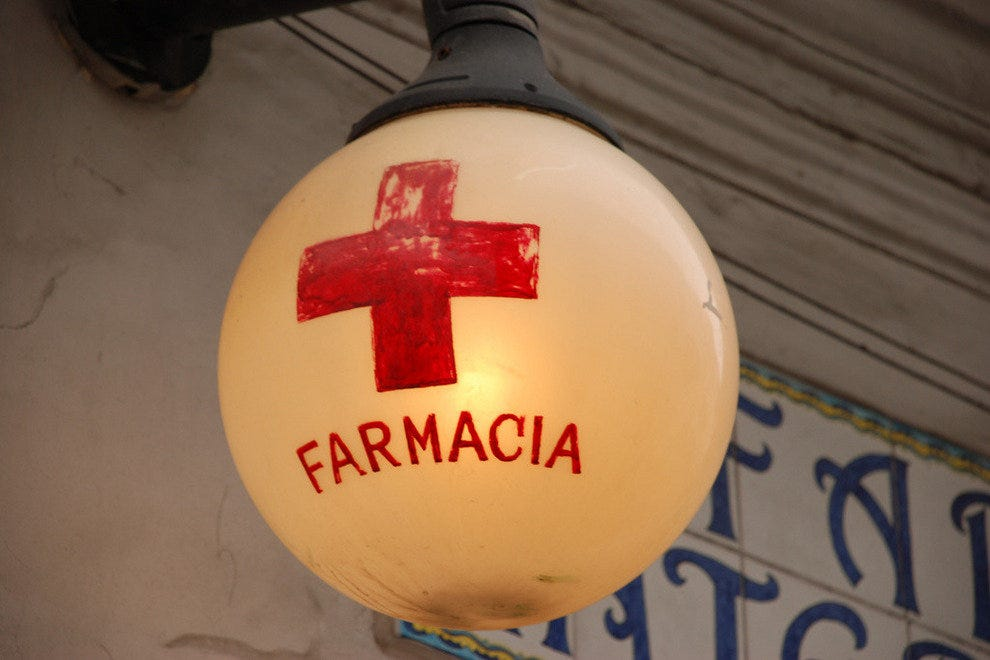 A new type of pharmacy in Rome
