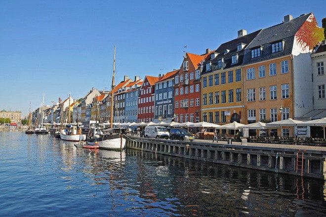 Sightseeing in Copenhagen