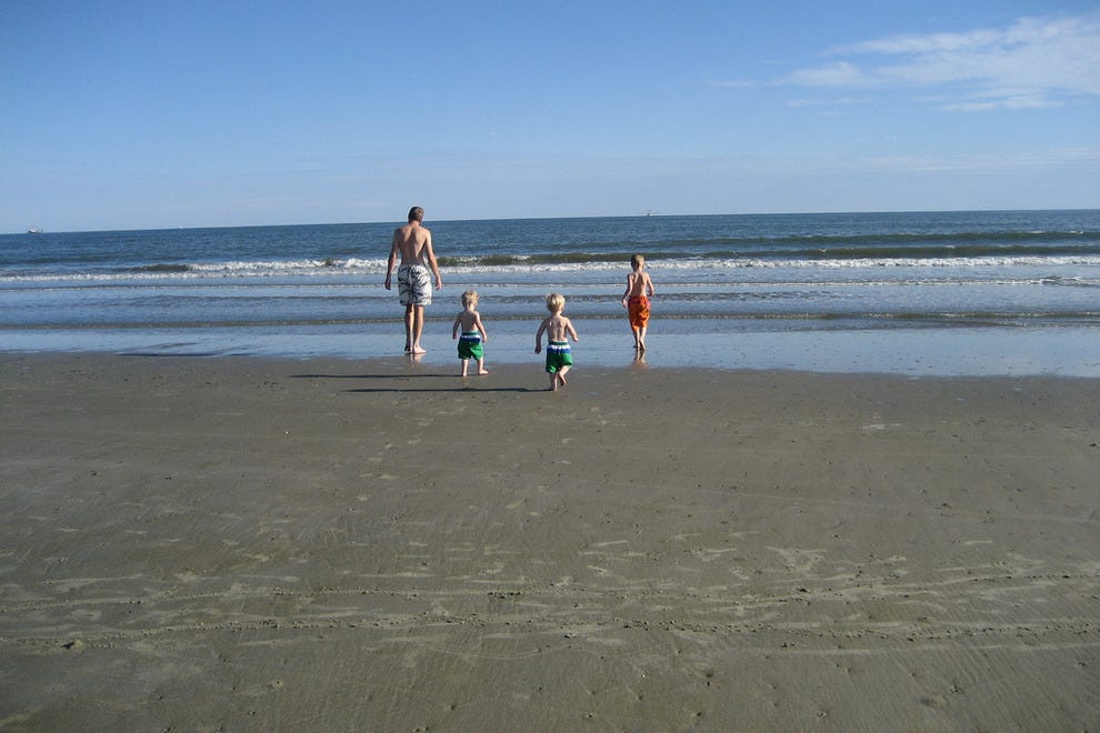 Kiawah is a great beach destination for families