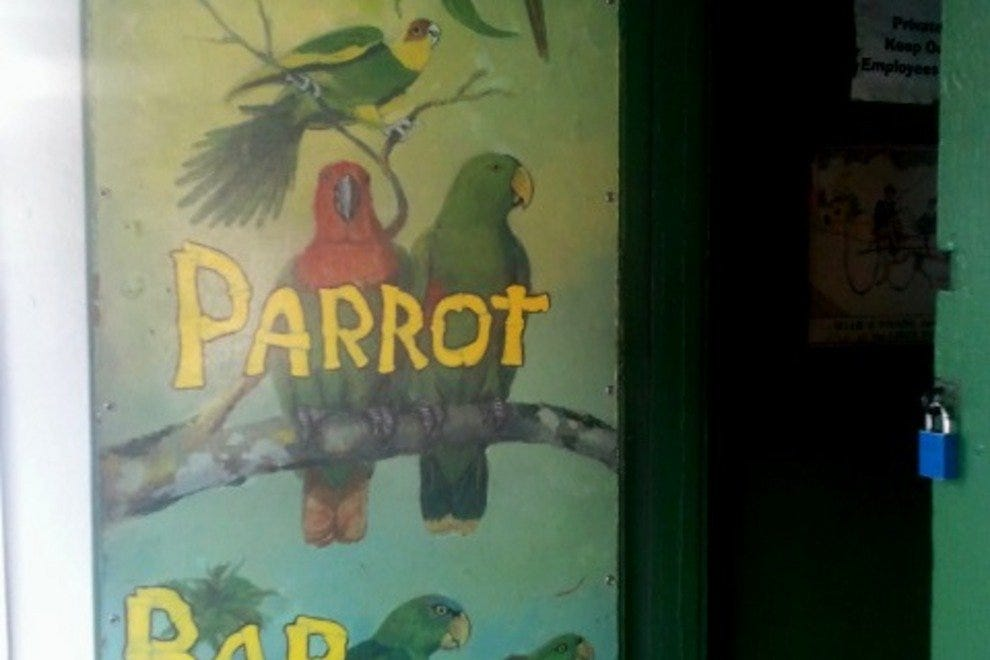 The Green Parrot, Key West Florida