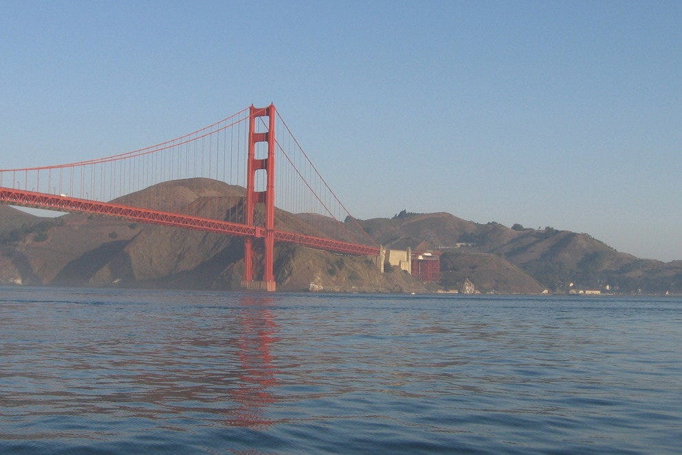 Golden Gate Bridge, Bay view