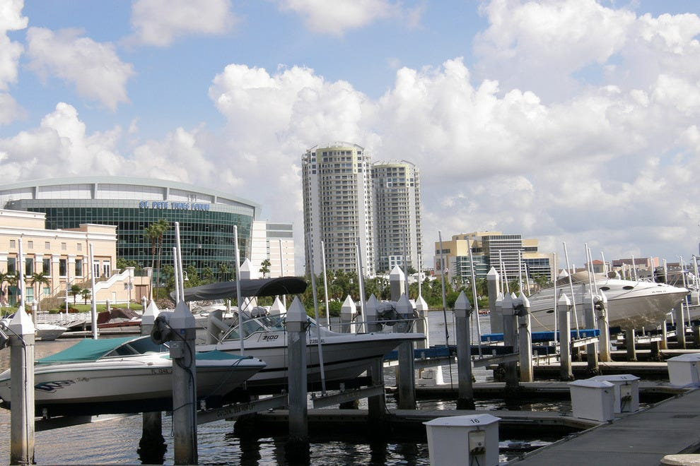 Downtown Tampa Lunch Restaurants