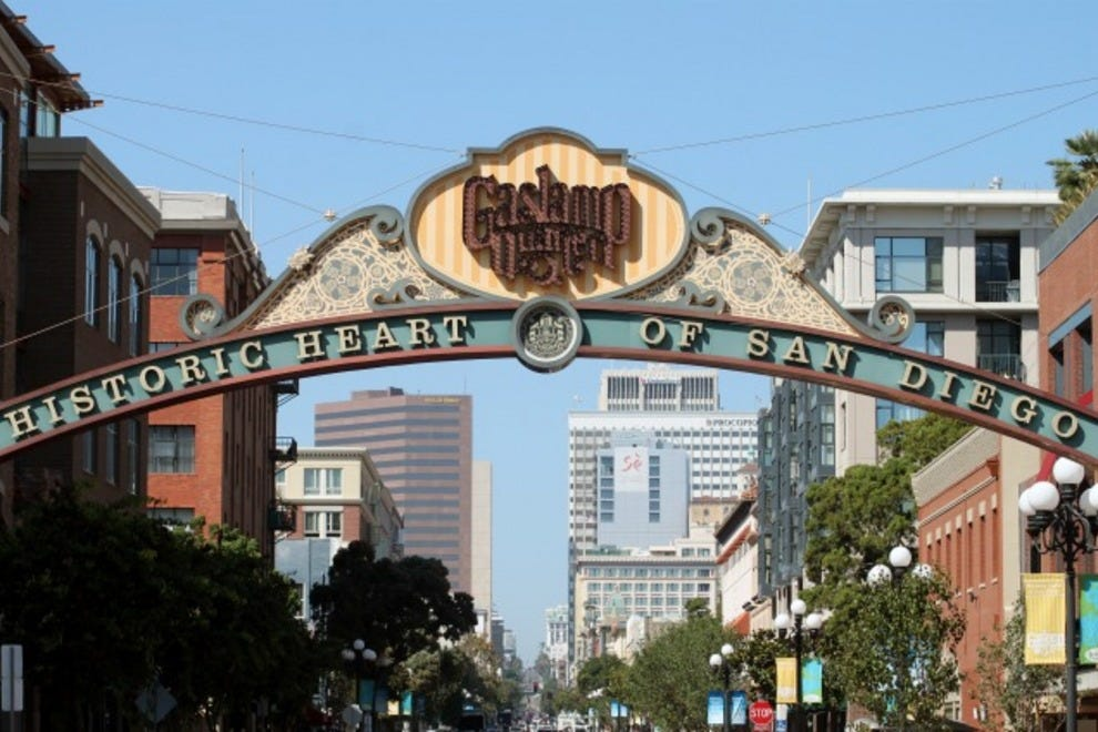 Things To Do In Gaslamp Quarter San Go Neighborhood
