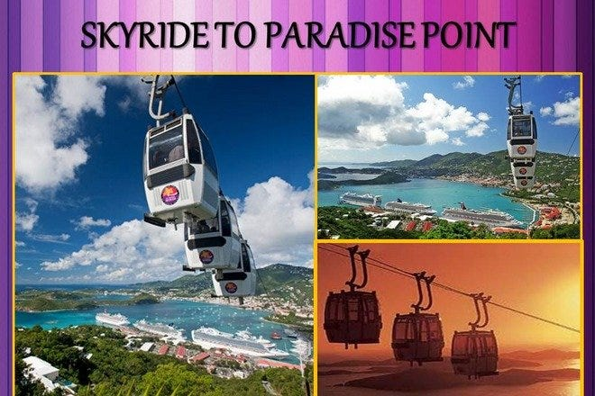 Paradise Point St. Thomas Skyride
