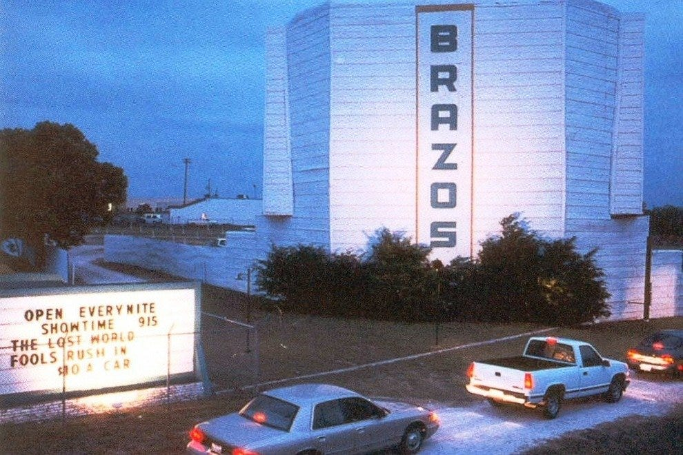 Brazos Drive-In Movie Theater