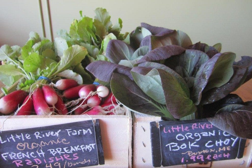 Some of Rosemont Produce's local offerings