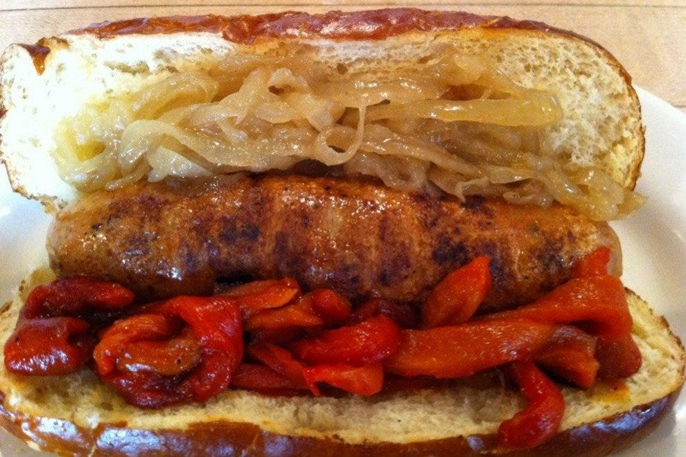 The Wurst at The Blue Agave