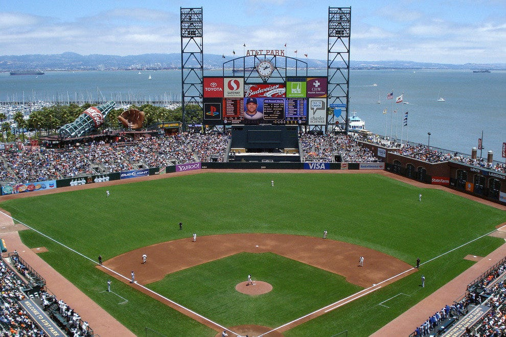 At T Park San Francisco Attractions Review 10best Experts And