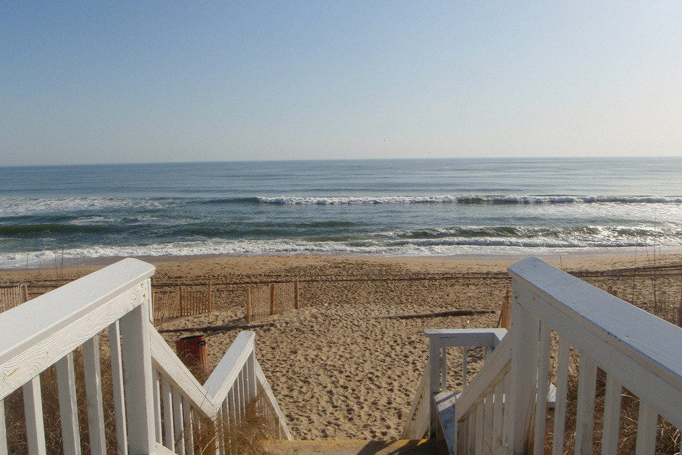Outer Banks beach access = gorgeous photo