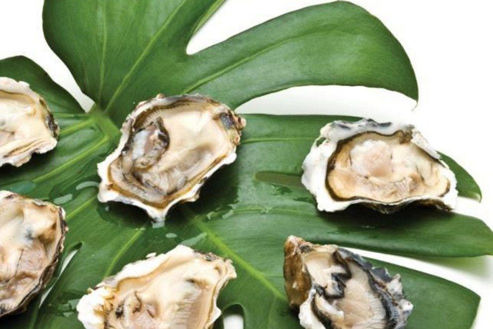 Roasted oysters at the Westin Savannah Harbor Golf Resort & Spa's First Friday Oyster Roast